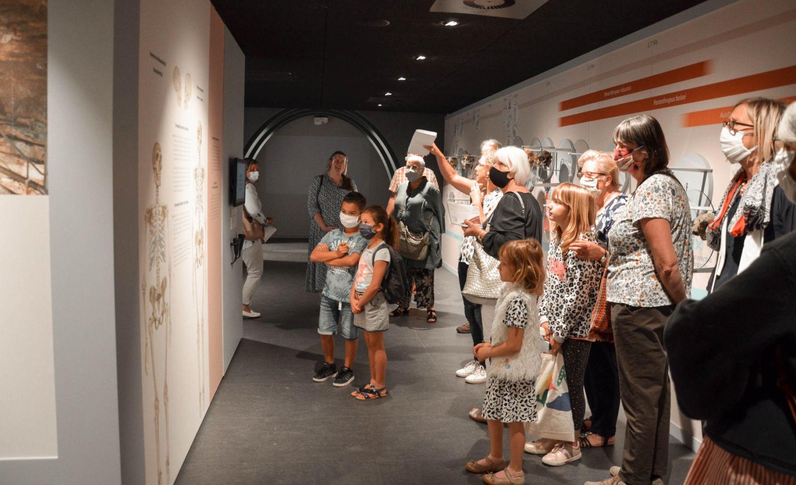 Nos premières visites inaugurales pour l'ouverture de l'Espace muséal d'Andenne